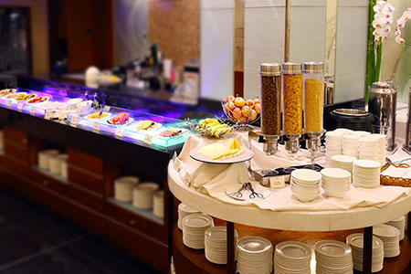 Buffet Breakfast at Casa real Hotel Macau