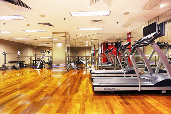 fitness centre at casa real hotel